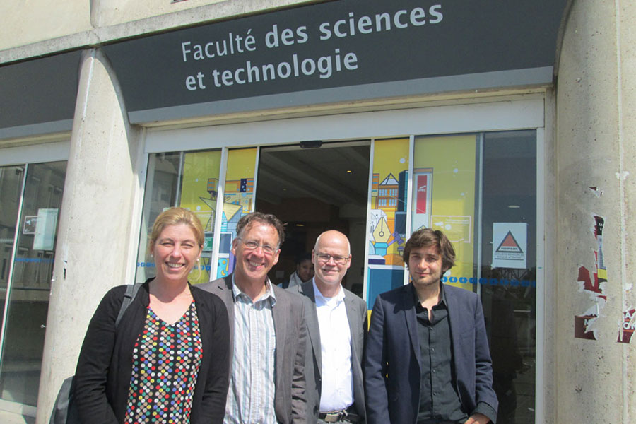 Une délégation allemande reçue à la faculté des sciences et technologie