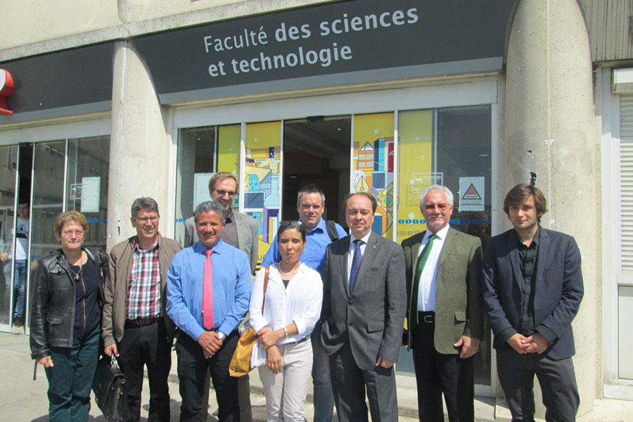 la faculté de sciences et technologie consolide sa coopération avec le mexique
